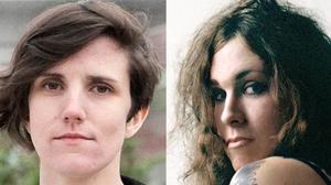 Lauren Denitzio of Worriers (left) and Laura Jane Grace of Against Me!.