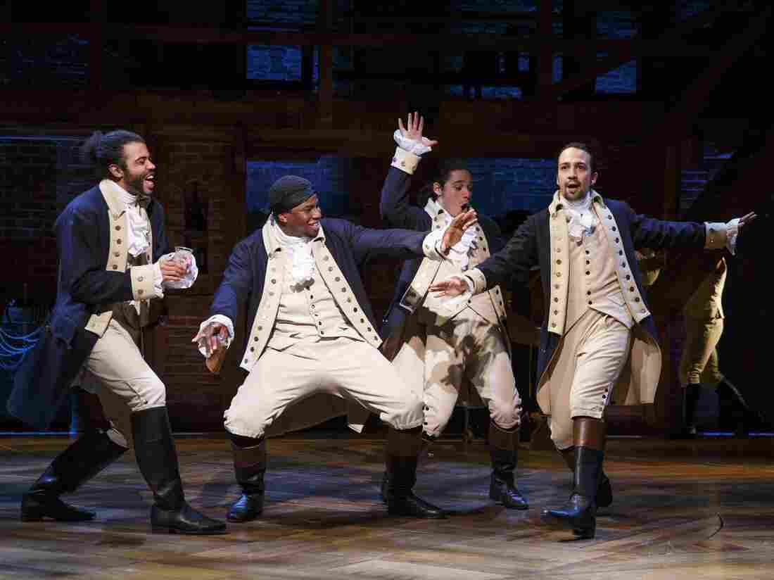 Hamilton, which opened Thursday on Broadway, is a play based on the life of Founding Father Alexander Hamilton.