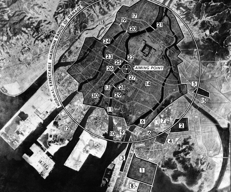 Why did the us choose hiroshima npr enlarge this image gumiabroncs Gallery