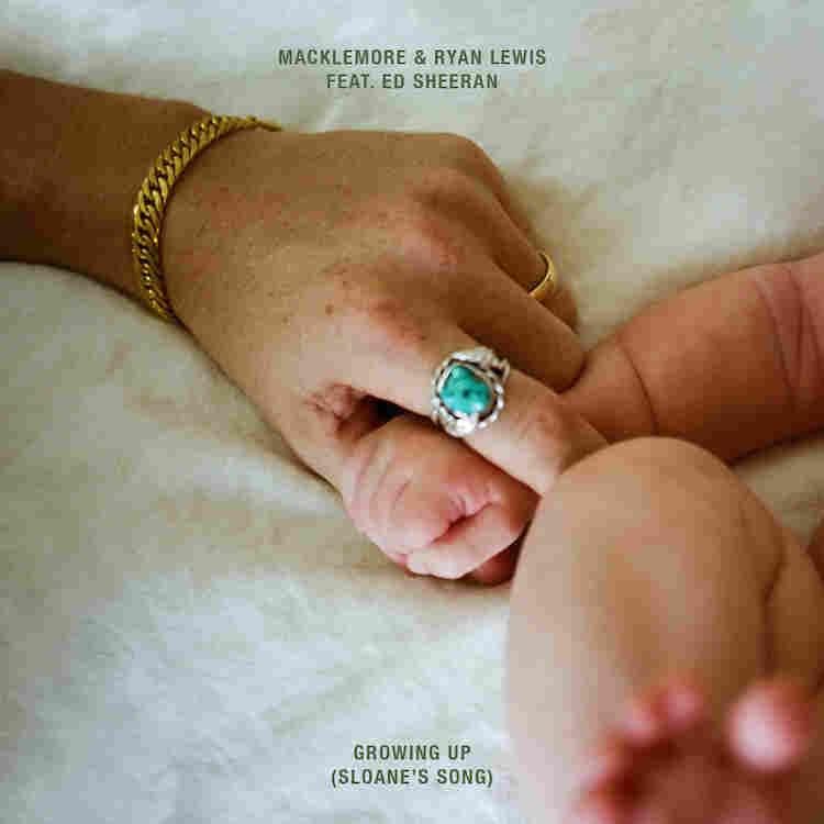 "Cover art for ""Growing Up,"" by Macklemore & Ryan Lewis ft, Ed Sheeran"