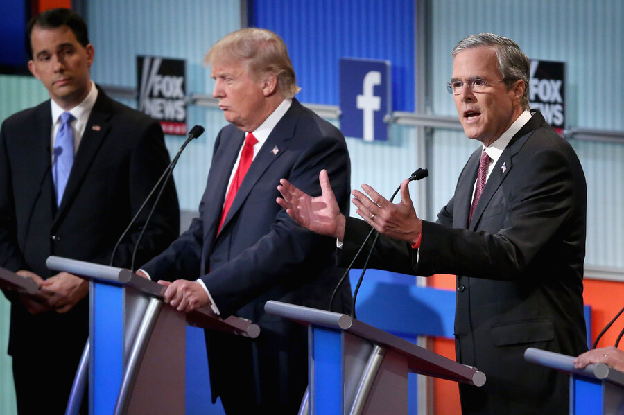 The First Republican Presidential Debate In 100 Words (And A Video ...