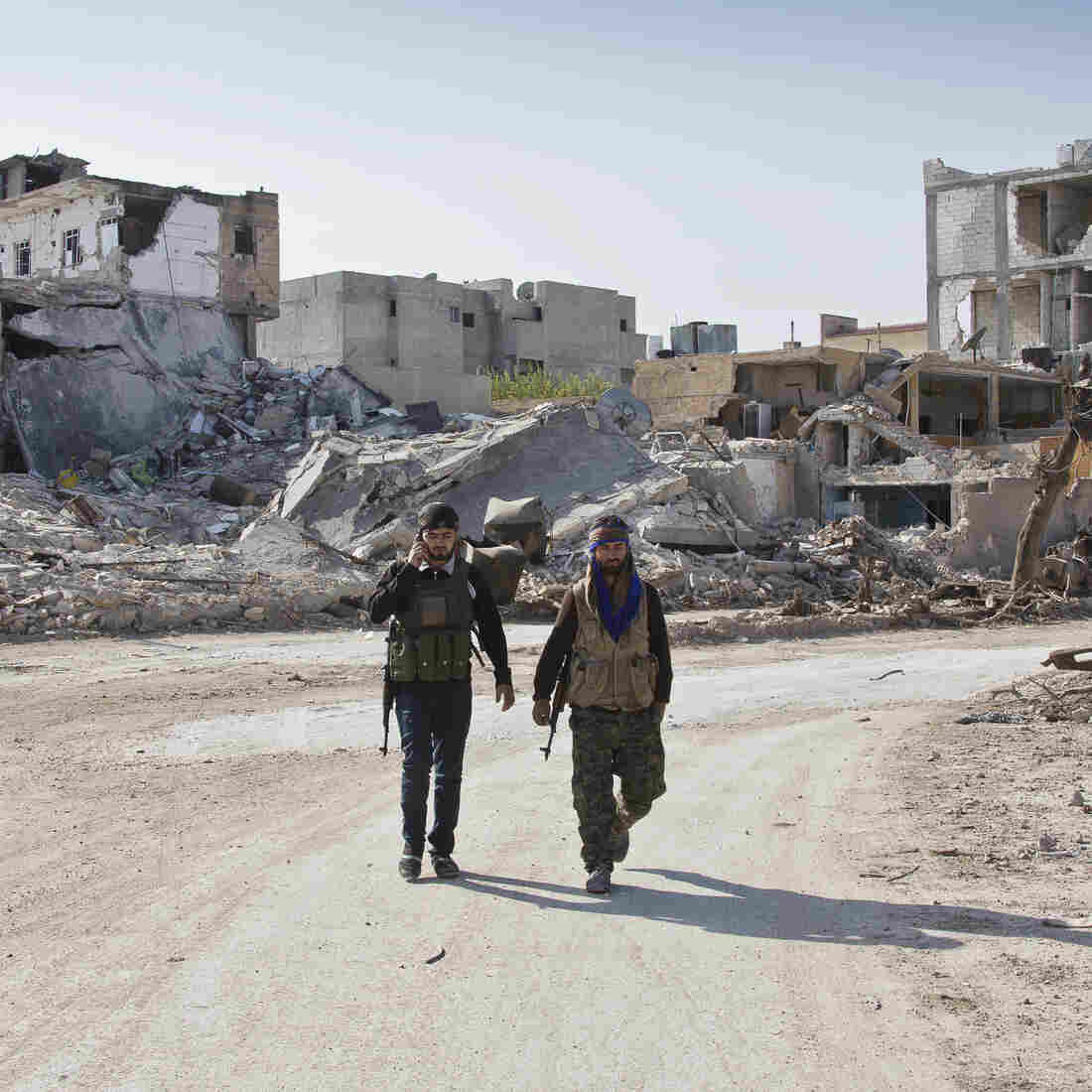 After A Year Of Bombing ISIS, U.S. Campaign Shows Just Limited Gains
