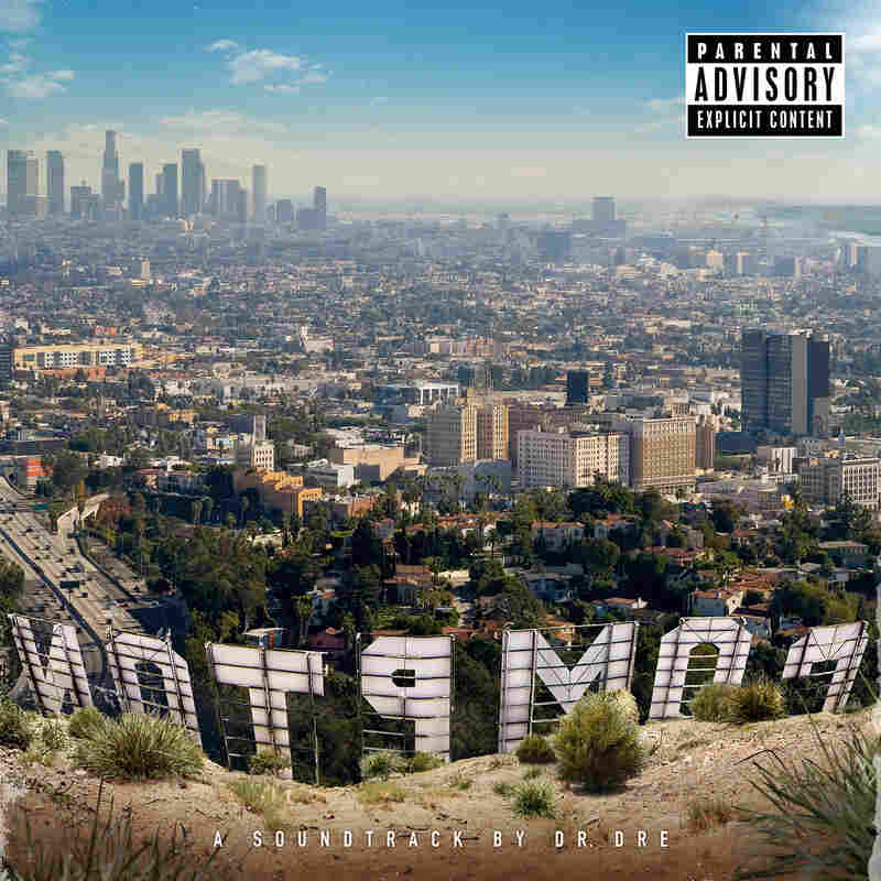 The cover of Dr. Dre's album Compton.
