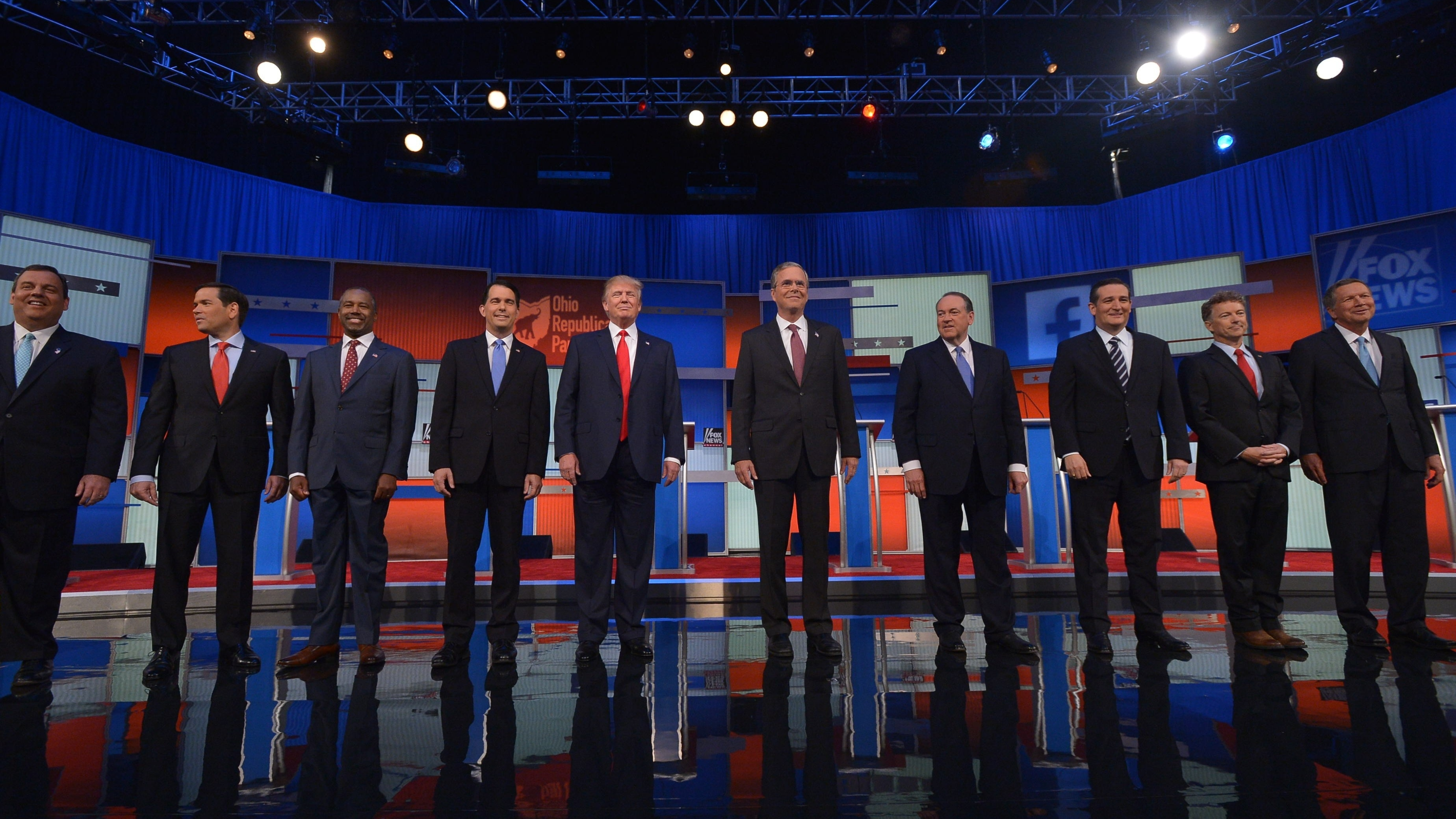 The First GOP Presidential Debate By The Numbers