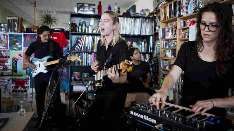 Tiny Desk concert with Torres