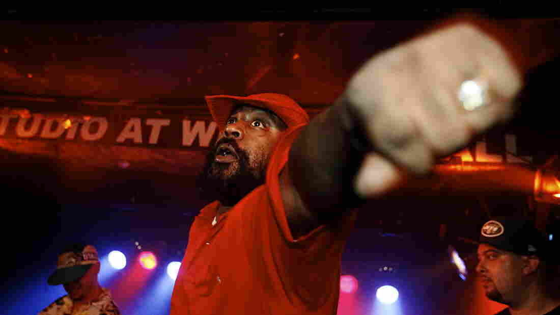 Sean Price onstage in New York City in September of 2014.