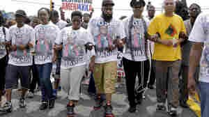 Moment Of Silence Marks A Year Of Mourning, Protest In Ferguson