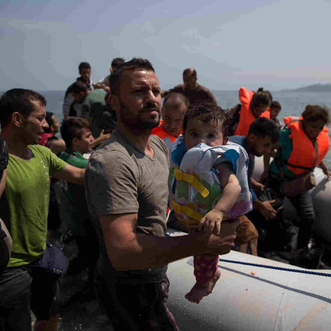 As Migrants Wash Ashore, Greek Island Residents Come To Their Aid