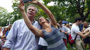 """New Hampshire voters can take selfies, not only with their favorite candidates but with ballots marked for their favorite candidates. A federal judge has knocked down a ban on """"ballot selfies."""""""