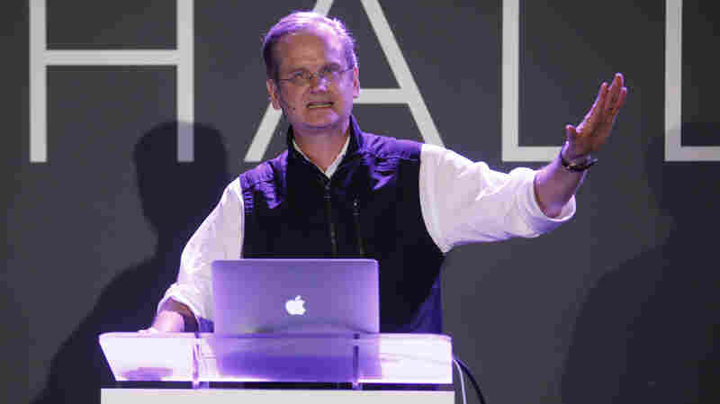 Lawrence Lessig, Harvard Law professor, speaks in New York City earlier this year.