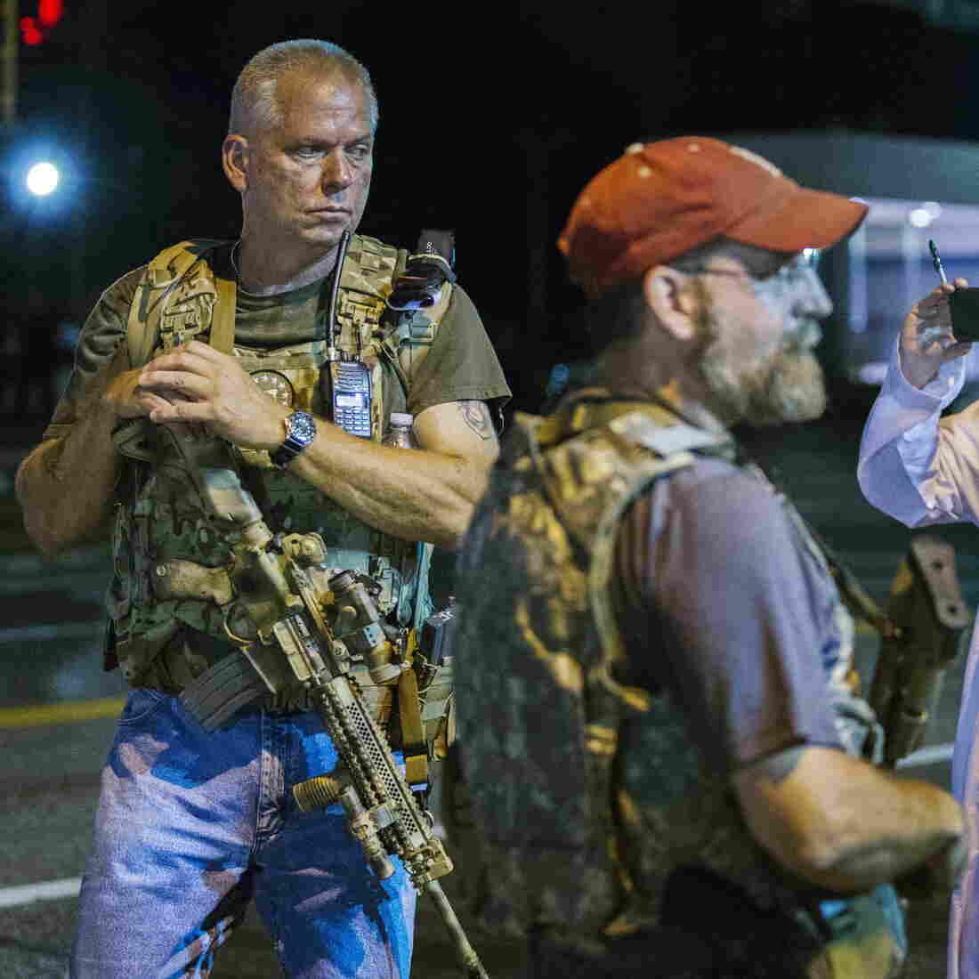 More Than 20 Arrested In Ferguson; Armed 'Oath Keepers' Walk Streets
