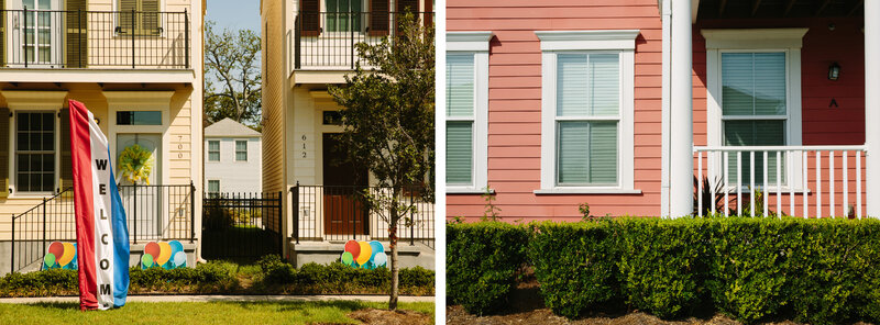 After Katrina New Orleans Public Housing Is A Mix Of Pastel And