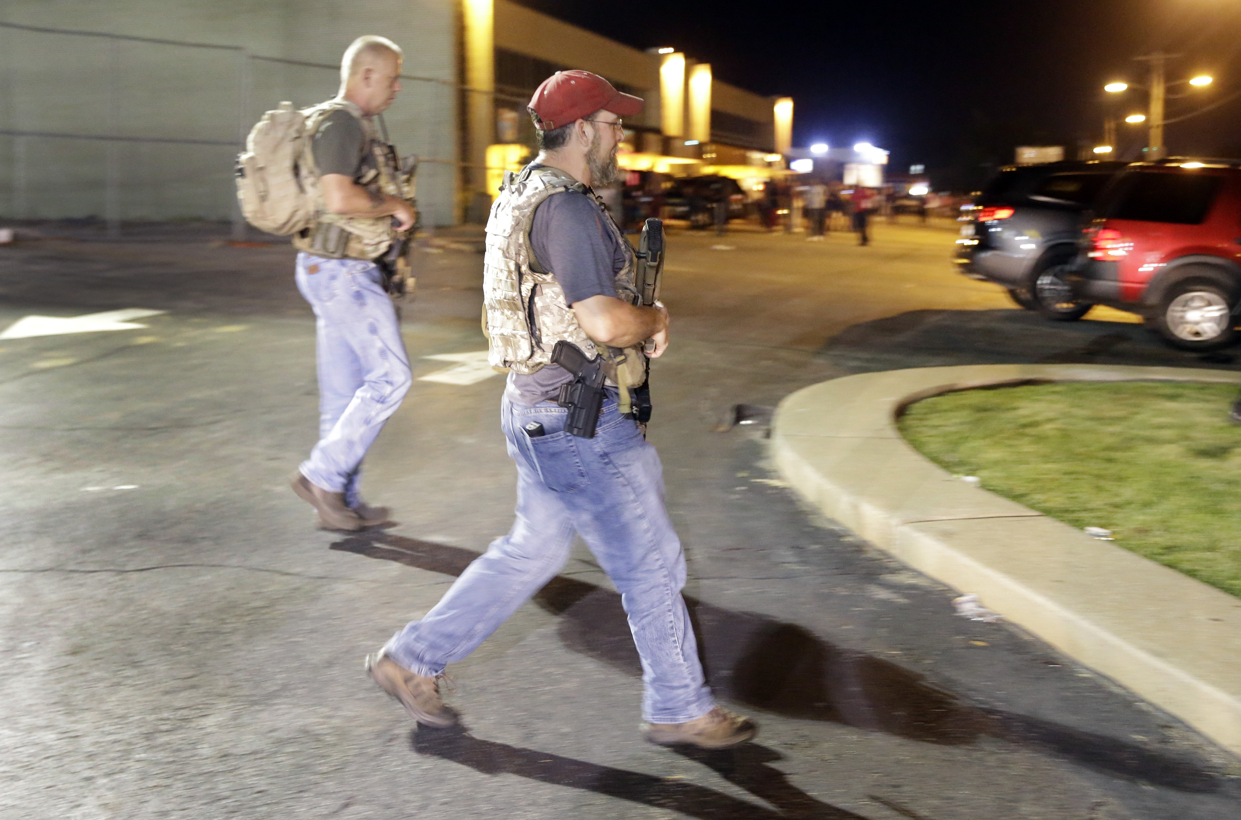 Oath Keepers Say They're Defending Ferguson; Others Say They're Not Helping