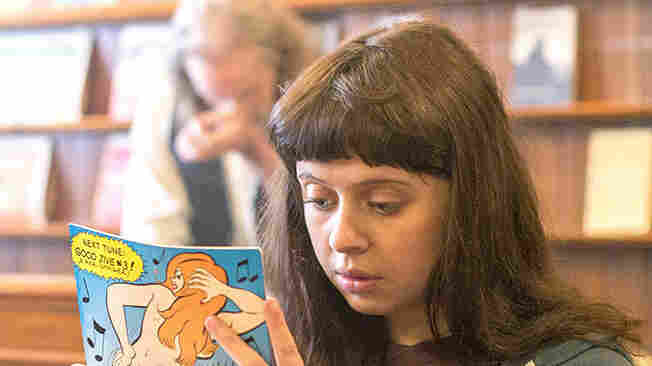 Bel Powley stars as Minnie Goetze in The Diary of a Teenage Girl. Directed by Marielle Heller, the film is based on a semi-autobiographical graphic novel by Phoebe Gloeckner.