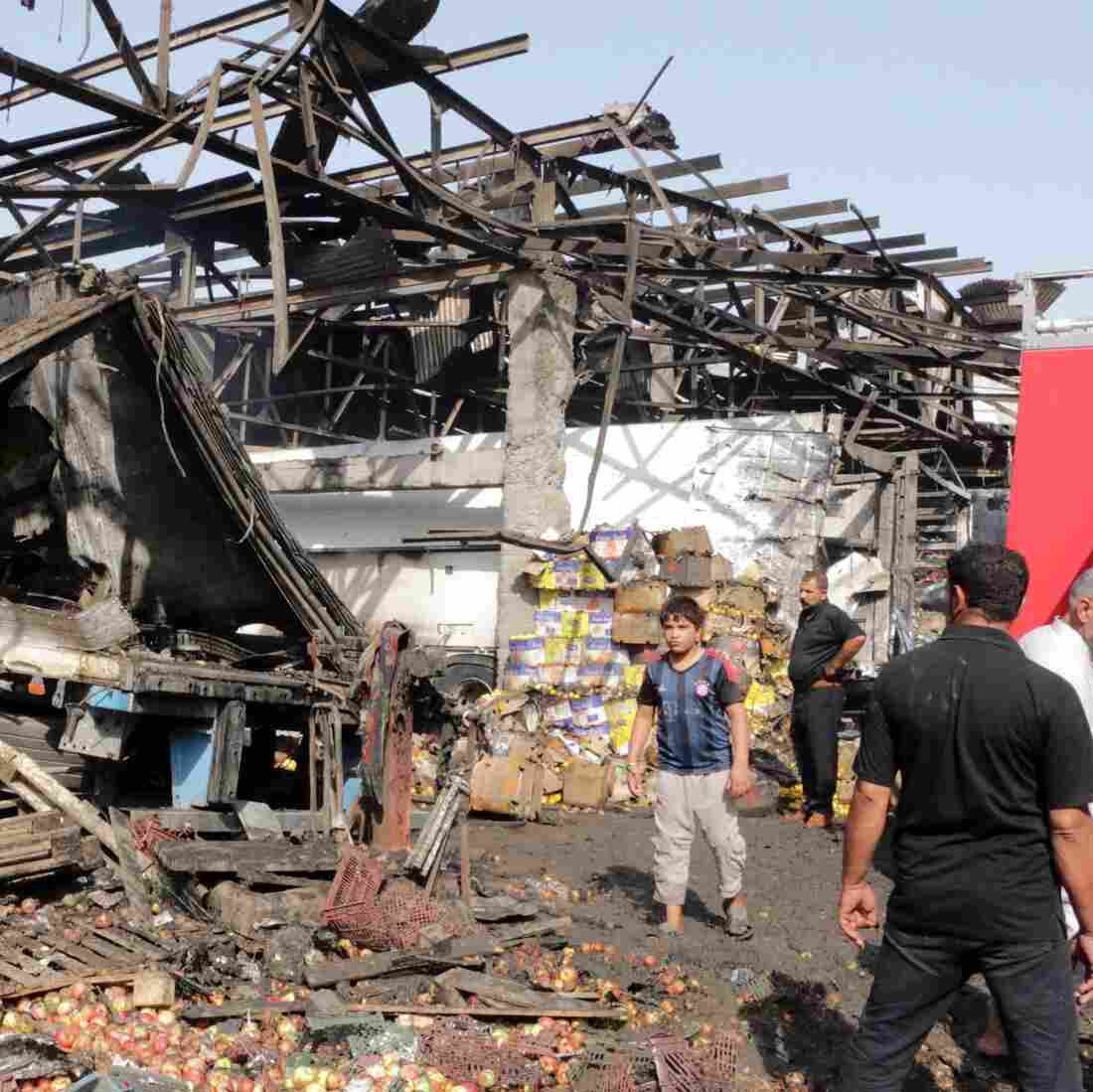 ISIS Claims Responsibility As Scores Killed In Baghdad Truck Bomb
