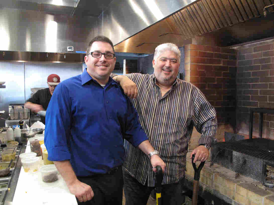 Chef Adolfo Garcia (right), with his partner Ron Copeland, says the post-Katrina rebuilding period has opened the door for more experimental cuisine.