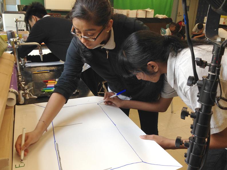 Students get involved in Kurani's design process.