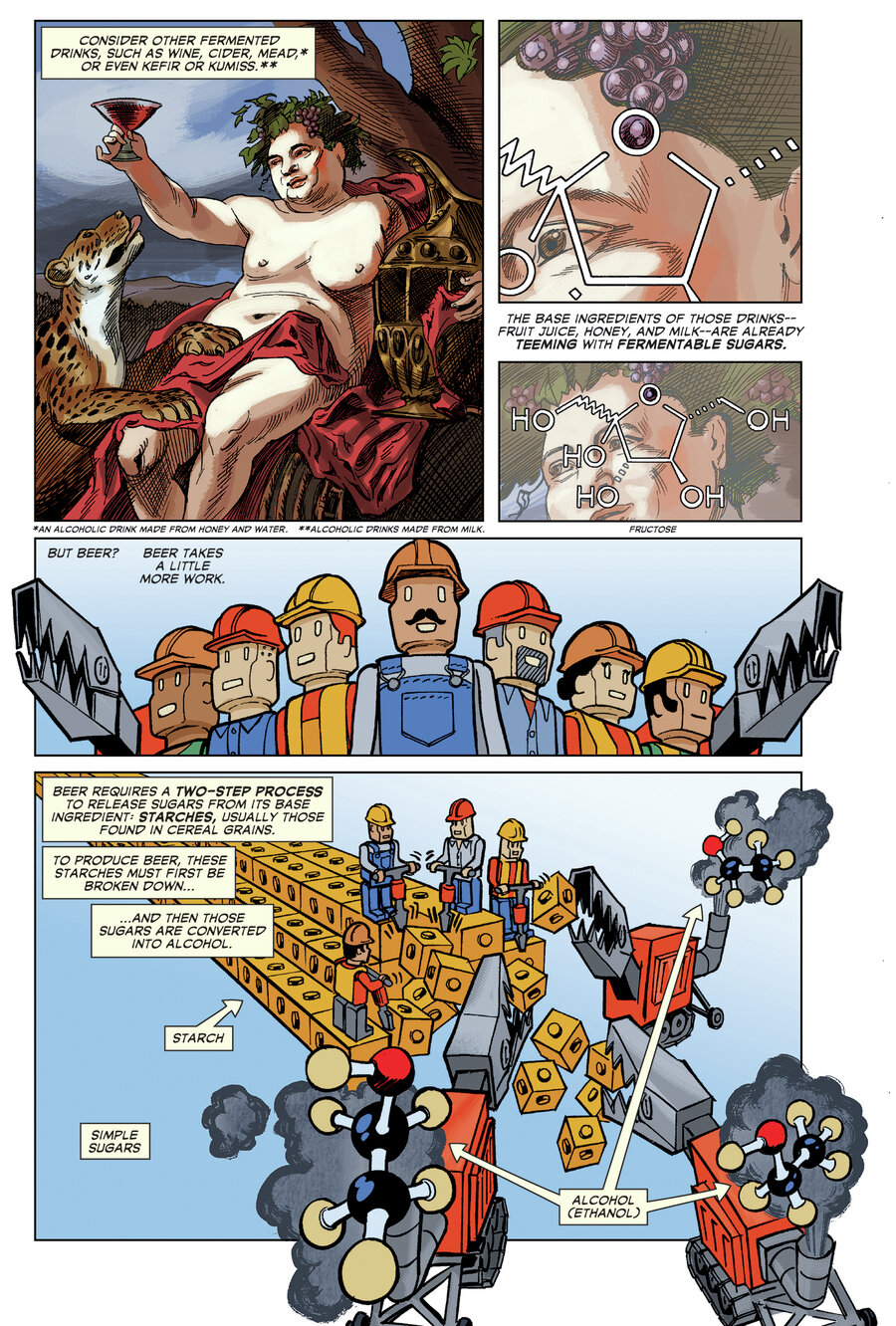 guzzling 9 000 years of history with u0027the comic book story of beer