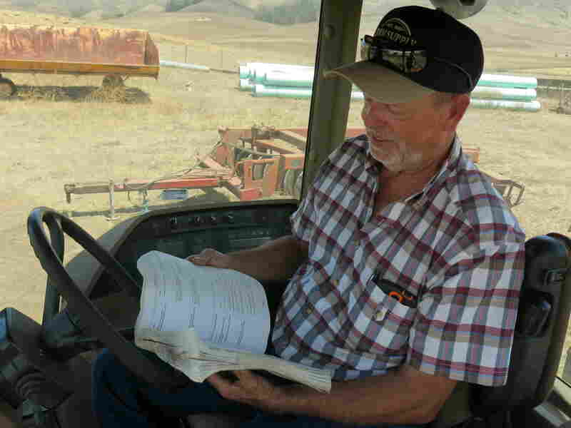 Dave Alford tries to unravel software codes to find out what's wrong with his tractor.