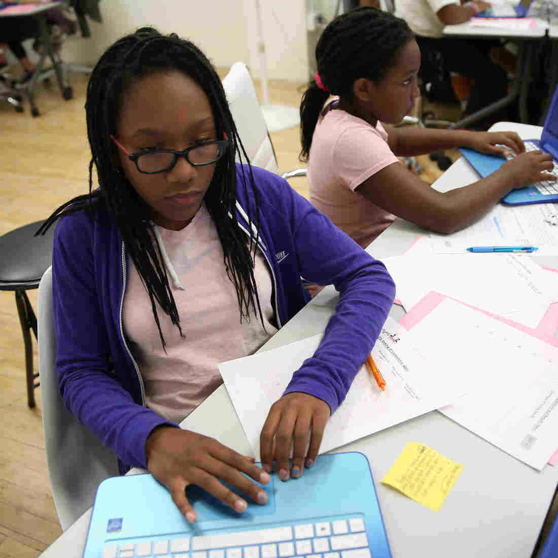 'Disrupting' Tech's Diversity Problem With A Code Camp For Girls Of Color