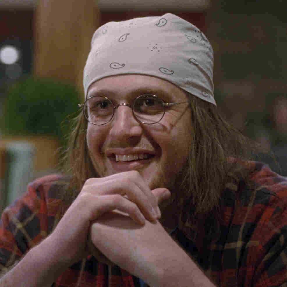 Jason Segel as David Foster Wallace in The End Of The Tour.