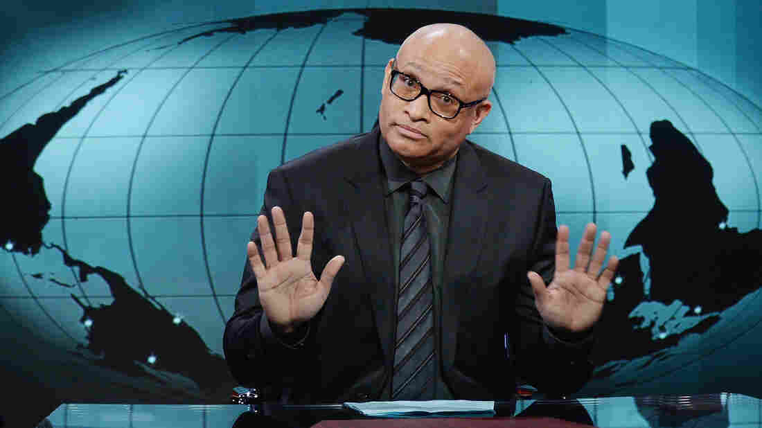 Larry Wilmore is the host of The Nightly Show, a satirical news show that airs on Comedy Central.