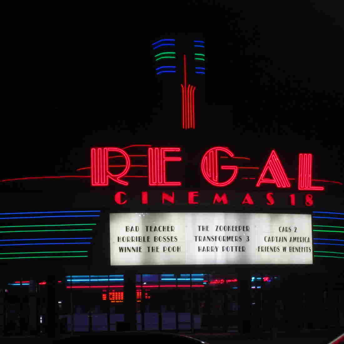 Catching A Movie? Regal Cinemas May Be Checking Your Bag