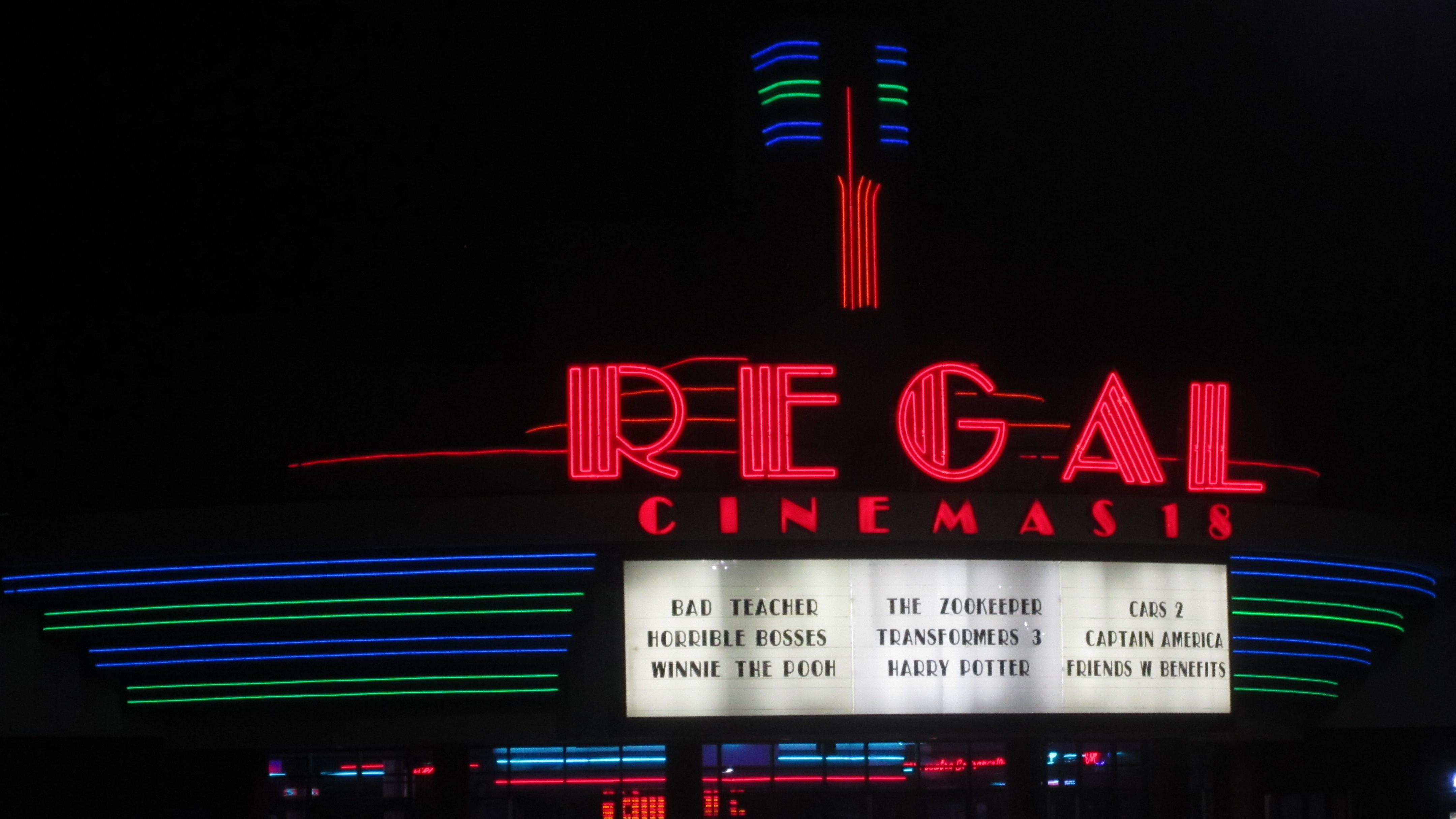 Regal Cinemas To Check Bags Upon Entry Into Movie Theaters : NPR