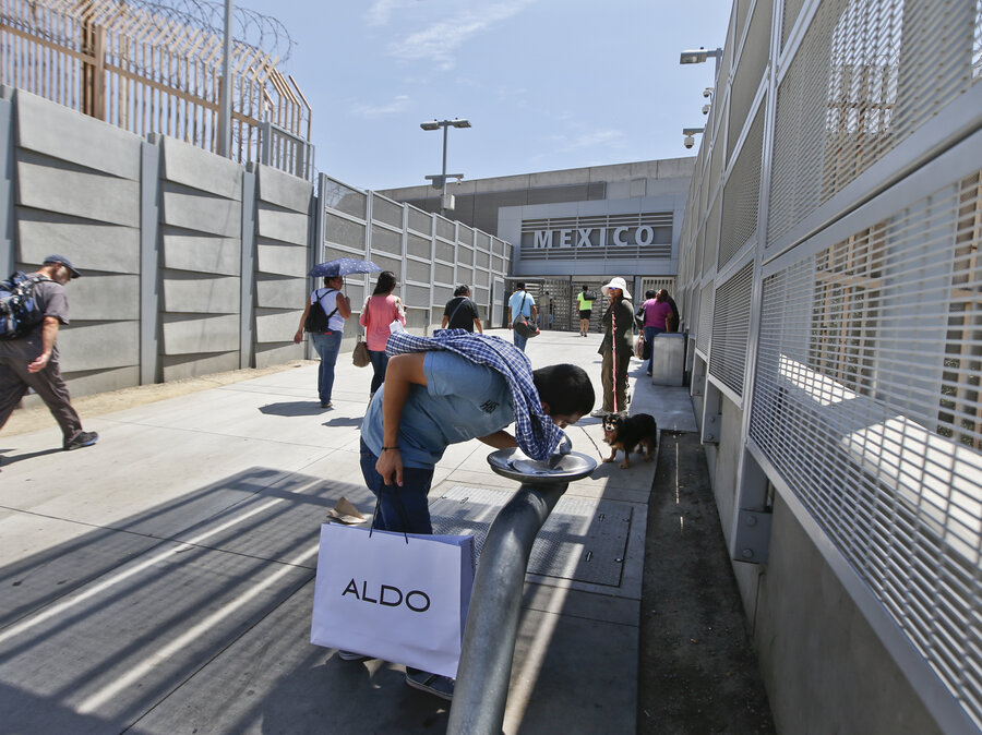 New rules go into effect at busy us mexico border crossing the new rules go into effect at busy us mexico border crossing sciox Gallery
