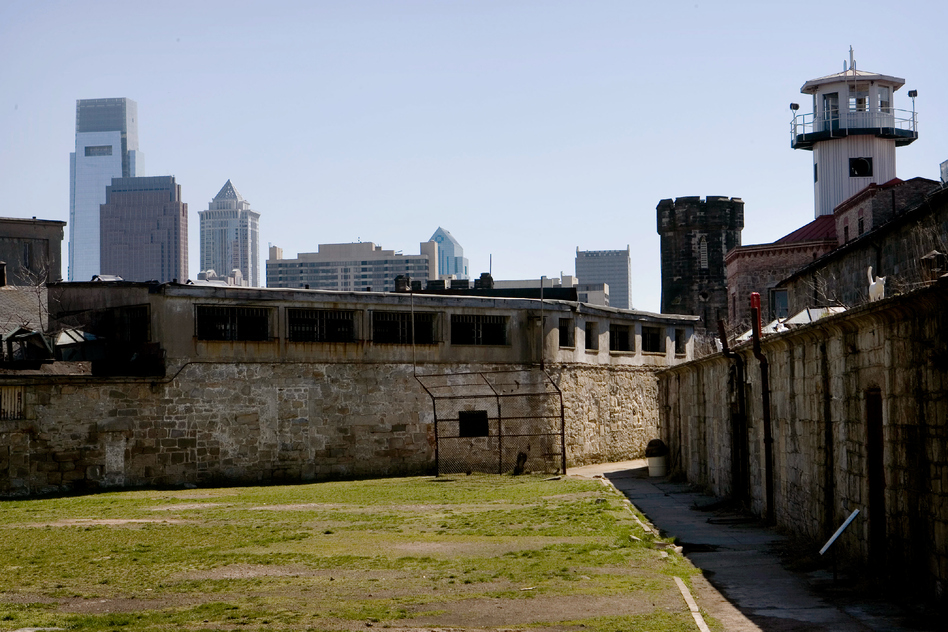 A part of Eastern State Penitentiary in Philadelphia is shown in 2008. The penitentiary opened in 1829, closed in 1971, and then historic preservationists reopened it to the public for tours in 1994. (Matt Rourke/AP)