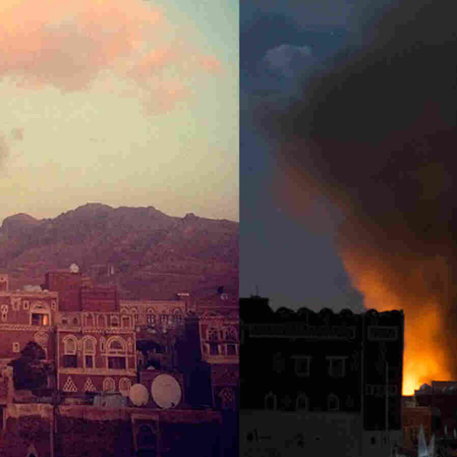 This summer the densely populated capital of Yemen was attacked. Sanaa is one of the oldest cities in the world and tourists used to marvel at its gardens, mosques and stunning 11th century architecture — now destroyed.