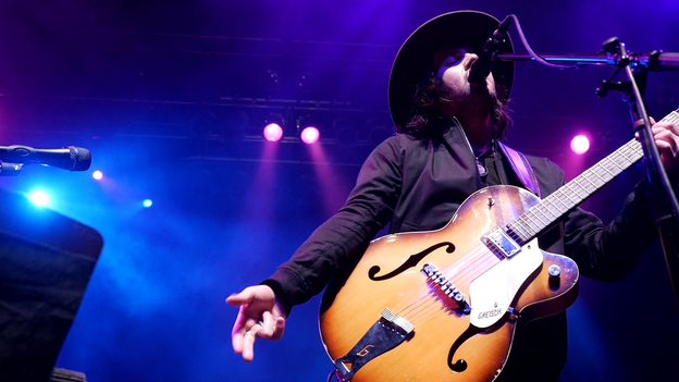 Conor Oberst performs live at the House of Blues in Boston, Mass. (WGBH)