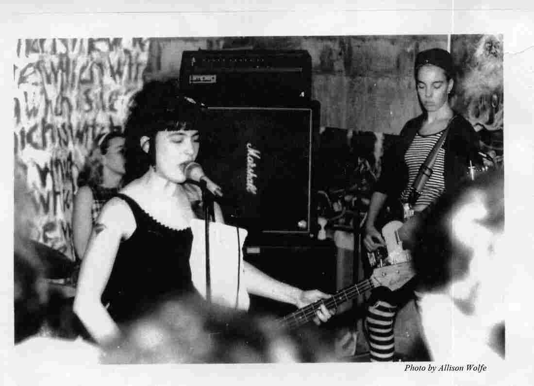 Bikini Kill perform at one of their first live shows, in 1990.