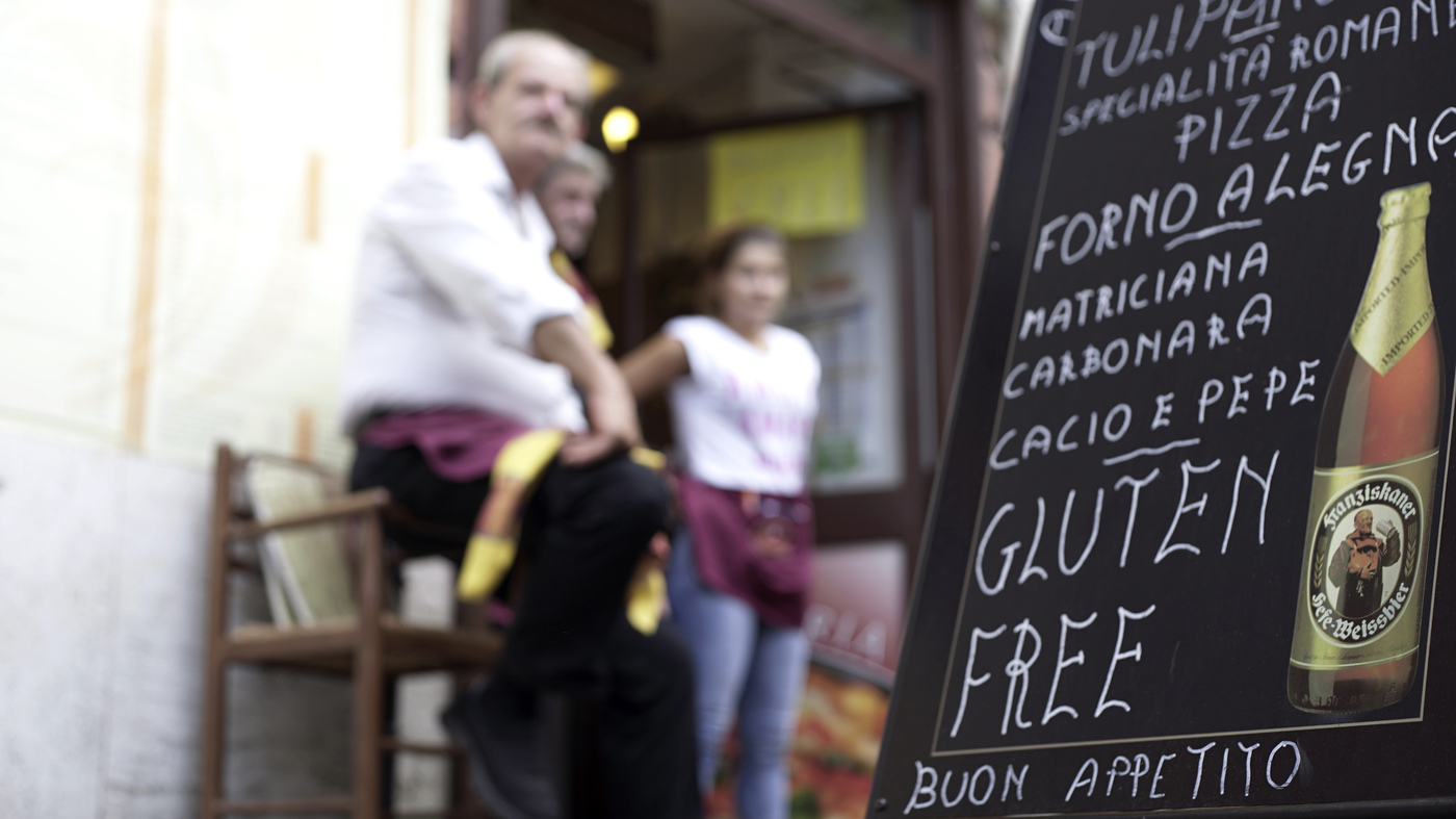 Italy, Land Of Pizza And Pasta, Is Gluten-Free Friendly : The Salt : NPR