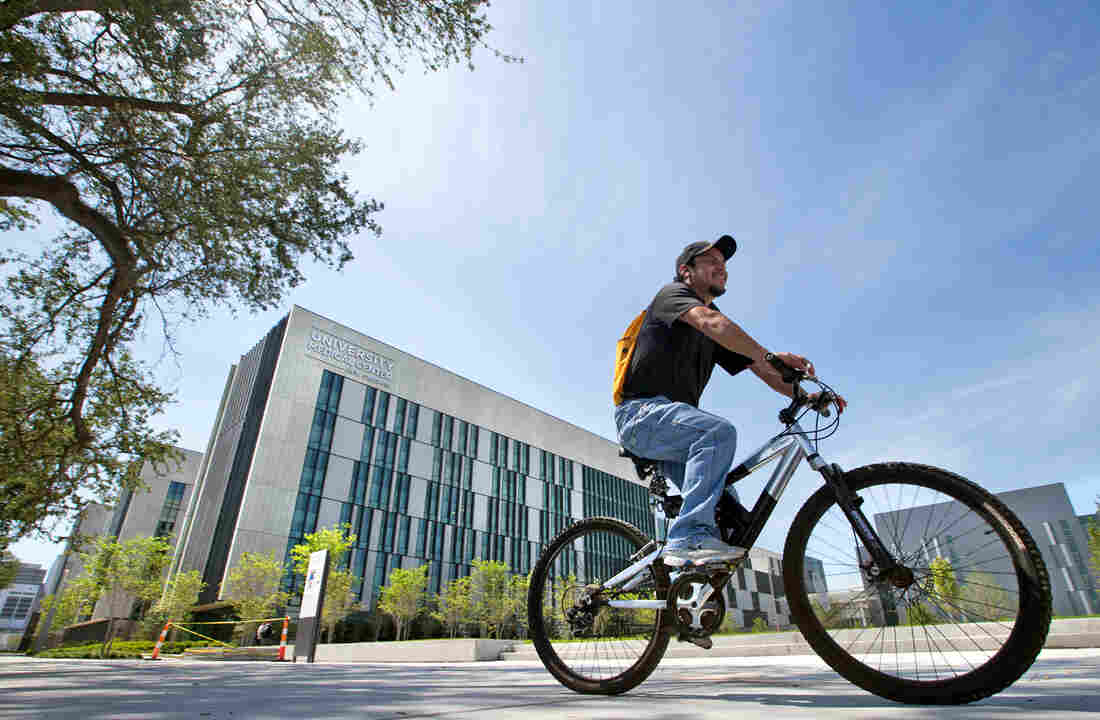 University Medical Center New Orleans on Aug. 1, when the $1 billion facility welcomed its first patients.
