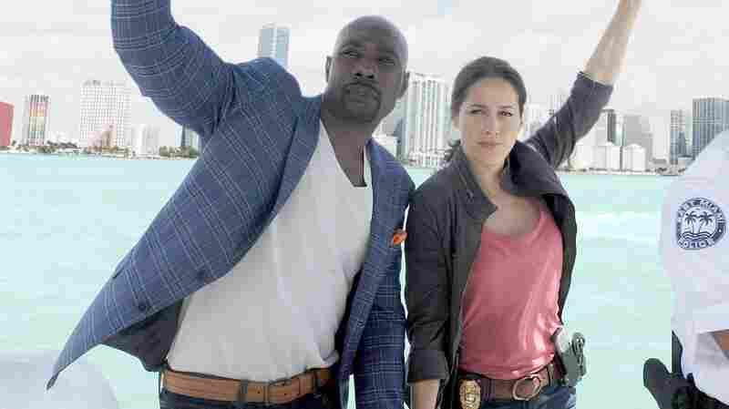 Morris Chestnut and Jaina Lee Ortiz in Fox's Rosewood, coming this fall.