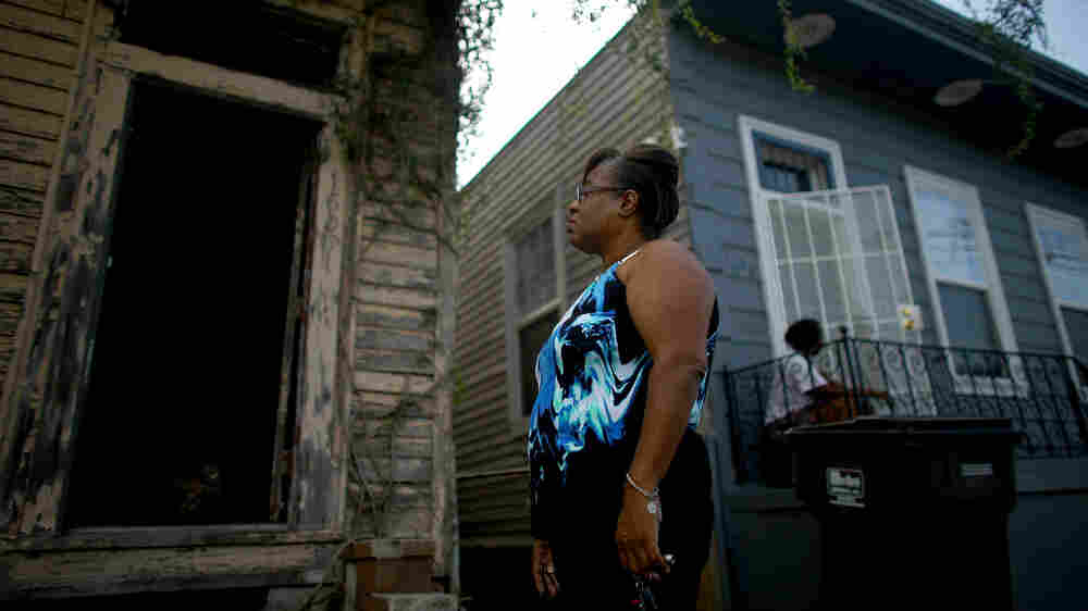 New Orleans Neighborhoods Scrabble For Hope In Abandoned Ruins