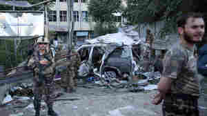 Suicide Car Bomb In Kabul Kills 12, Including 3 American Contractors