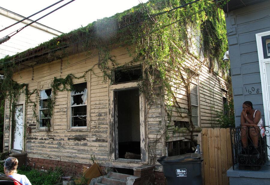 new orleans neighborhoods scrabble for hope in abandoned ruins : npr