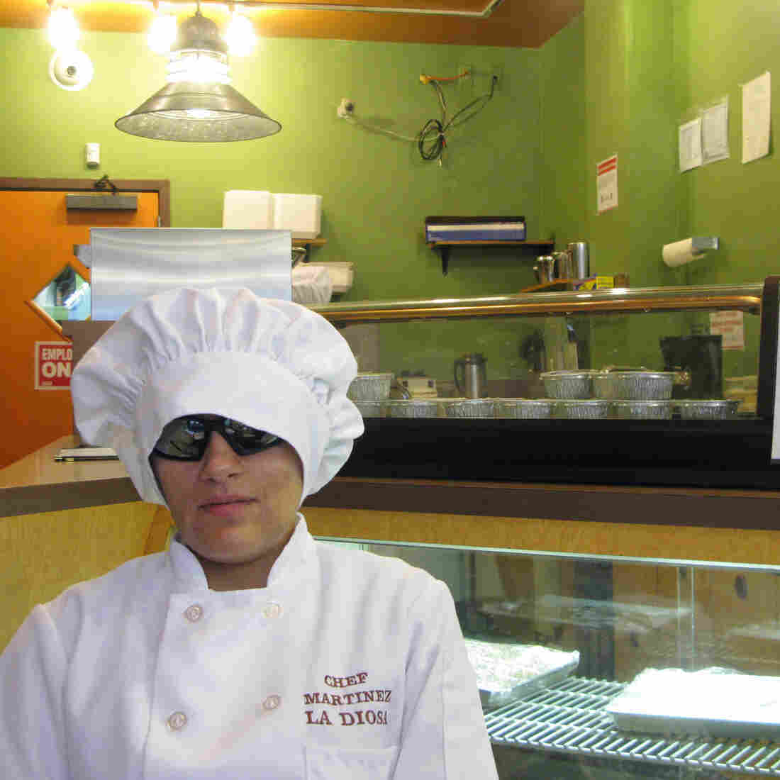 Chef Wants Diners To Remember Her Cooking, Not Her Blindness