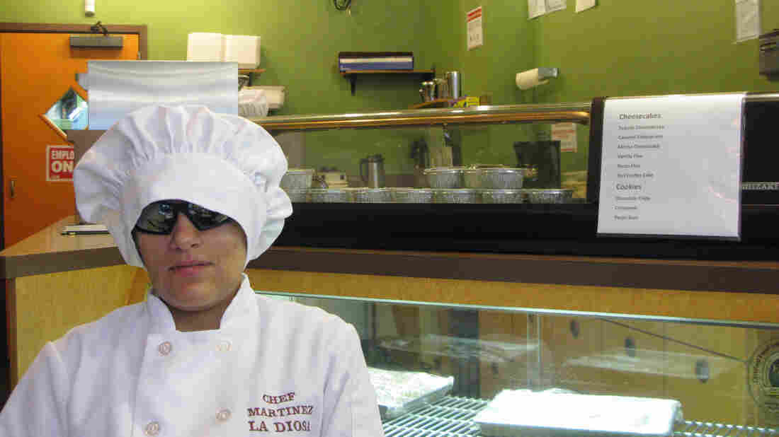 Laura Martinez may be the only blind chef in the country running her own restaurant. La Diosa opened in January. Martinez was hired directly out of culinary school by acclaimed Chicago chef Charlie Trotter and worked for him until his restaurant closed in 2012.