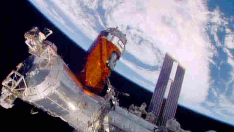 Astronauts Sent Whiskey, But Even Without Gravity They Can't Raise A Glass