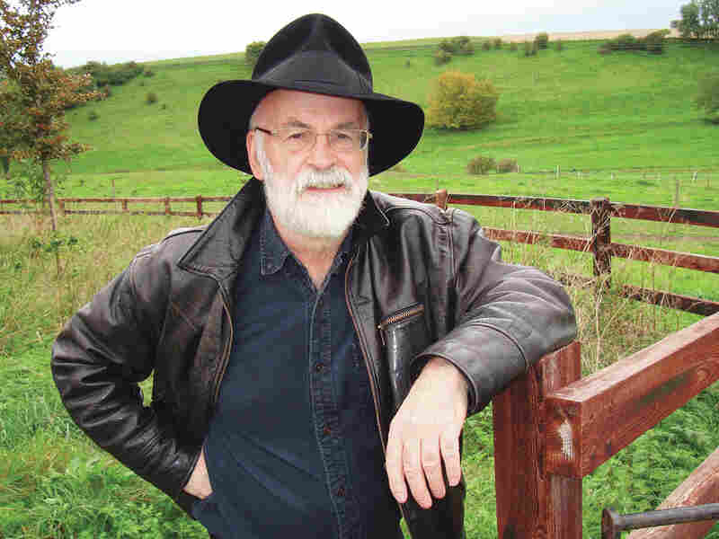 Terry Pratchett wrote more than 70 books; he died in March of complications of early-onset Alzheimer's disease. He was 66.