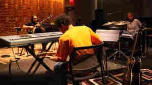 Yo La Tengo plays the music you hear between Morning Edition stories in Studio 1.