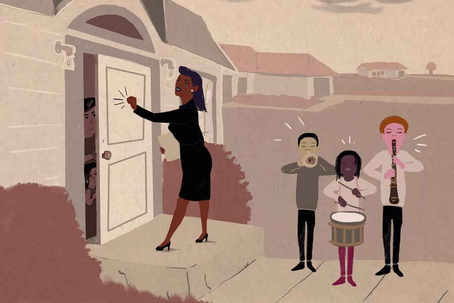 Door-knocking. & Knock Knock Teacher\u0027s Here: The Power Of Home Visits : NPR Ed : NPR