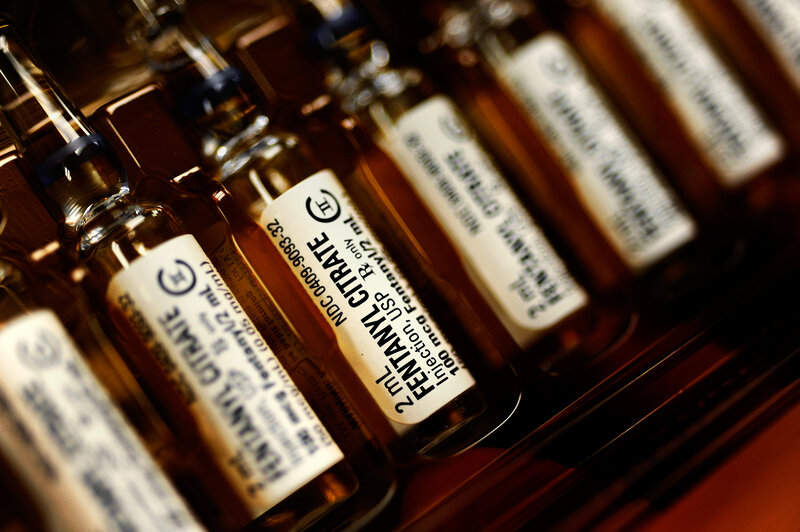 prescription fentanyl is used to cut heroin shots health news npr