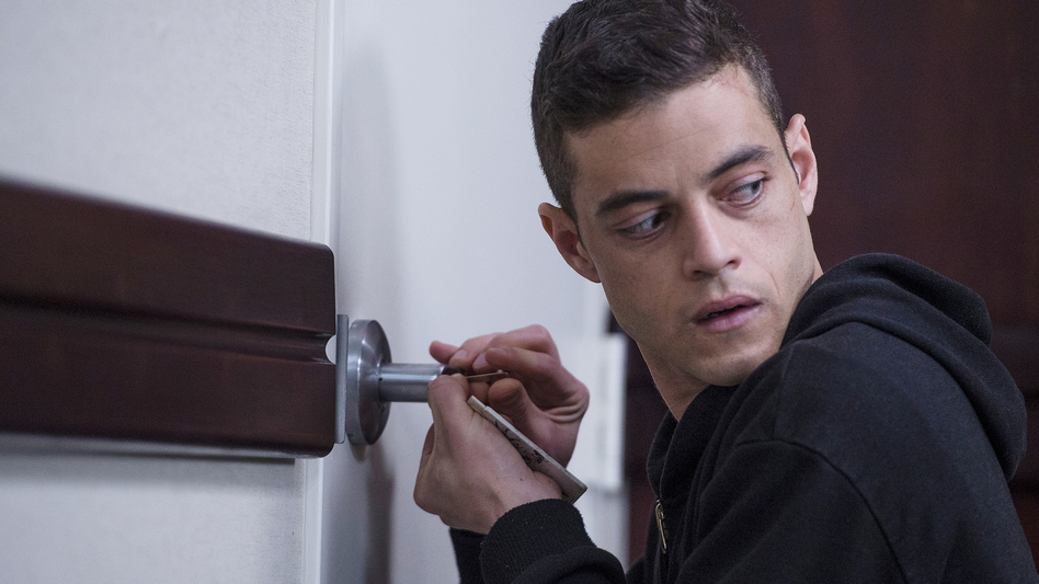 Rami Malek plays genius hacker Elliot Alderson in <em>Mr. Robot.</em> (David Giesbrecht/USA Network)