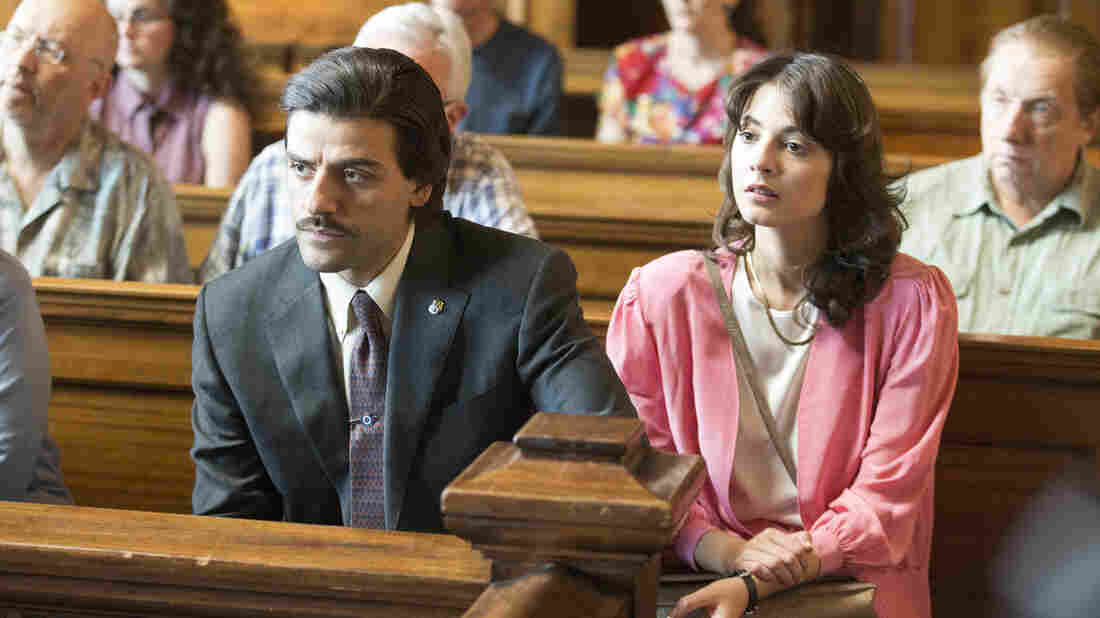 Oscar Isaac and Carla Quevedo star in the HBO miniseries Show Me A Hero.