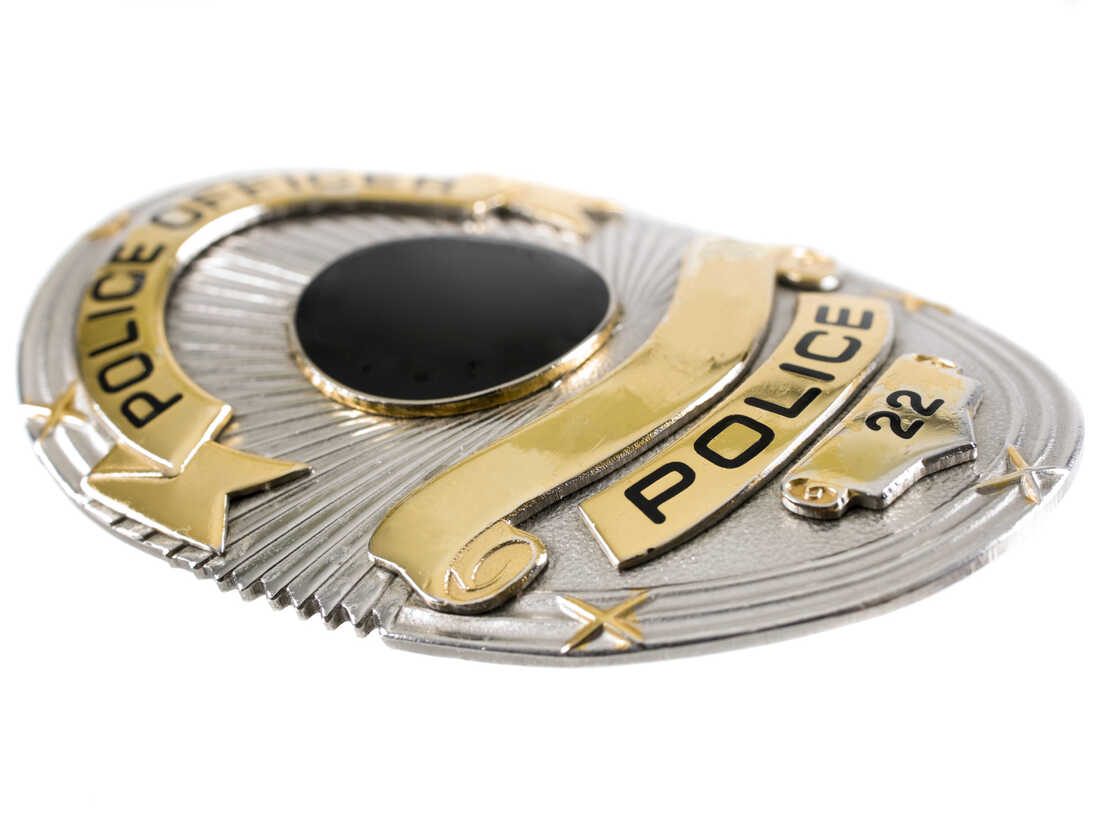 A police badge.