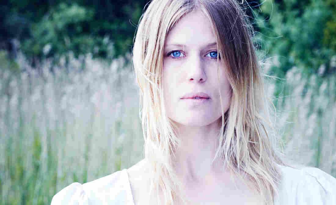 Danish musician Amalie Bruun the woman behind the black metal project Myrkur.